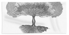 Tree Of Living Beach Sheet