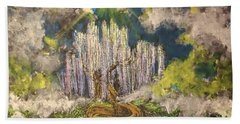 Tree Of Souls Beach Towel