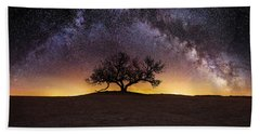 Tree Of Wisdom Beach Towel