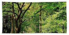 Tree Series 3 Beach Sheet by Elf Evans