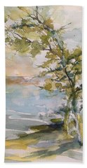 Tree Study Beach Towel