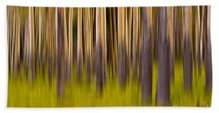 Trees Beach Sheet by Jerry Fornarotto