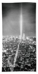 Tribute In Light - New York City Beach Towel
