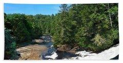 Triple Falls North Carolina Beach Sheet