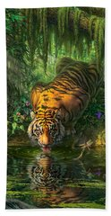 Aurora's Garden Beach Towel by Mark Fredrickson