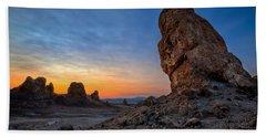 Trona Pinnacles Beach Towel