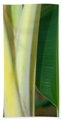 Tropical Banana Tree Beach Towel