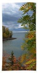 Tropical Mountain Ash Beach Towel by James Peterson