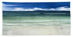Beach Towel featuring the digital art Tropical Ocean by Anthony Fishburne