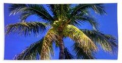 Tropical Palm Trees 8 Beach Towel