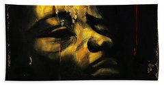 Troubled  Africa Beach Towel