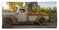 Pumpkin Time Beach Towel