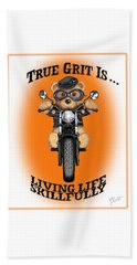 True Grit Beach Sheet by Jerry Ruffin