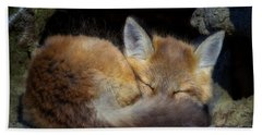 Fox Kit - Trust Beach Towel