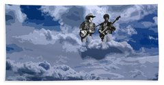 Tucker Boys In The Clouds 2 Beach Towel