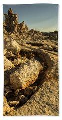 Tufa Rock Beach Towel