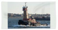 Tugboat Dace Reinauer Beach Sheet by Kenneth Cole