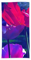 Beach Towel featuring the photograph Tulip 3 by Pamela Cooper