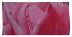 Tulip Blooming Beach Sheet