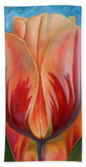 Tulip Beach Towel