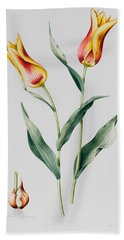 Tulip Mona Lisa Beach Towel