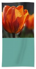 Tulip Prinses Irene Beach Towel