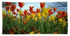 Tulip Time Beach Sheet