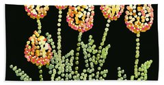 Tulips Bedazzled Beach Sheet