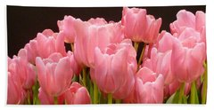 Tulips In Bloom Beach Sheet