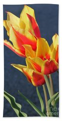 Tulips Beach Towel