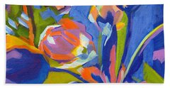 Tulip Variations  Beach Towel