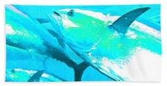Tuna Fish P88 Beach Towel