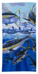 Tuna Rampage Off0018 Beach Towel