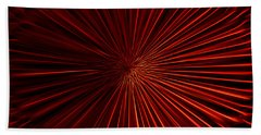 Tunnel Vision In Red Beach Towel