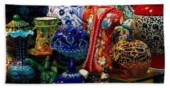 Turkish Ceramic Pottery 2 Beach Sheet