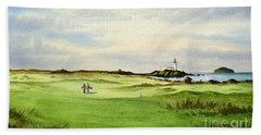 Turnberry Golf Course Scotland 12th Tee Beach Towel