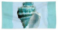 Turquoise Seashells Viii Beach Towel