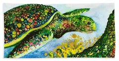 Turtle Love Beach Towel