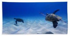 Turtle Pair Beach Towel