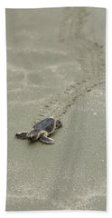 Turtle Tracks Beach Towel
