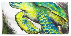 Turtle Wonder Beach Towel