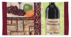 Tuscan Collage 2 Beach Towel