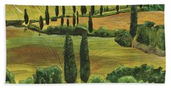 Tuscan Dream 1 Beach Towel