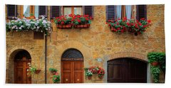 Tuscan Homes Beach Towel