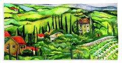 Tuscan Valley Beach Sheet