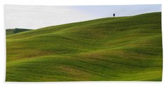 Tuscany Landscape Beach Sheet