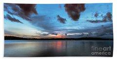 Twilight On Lake Lanier Beach Towel