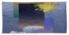 Twilight Calm Interrupted By Ocean Breeze Beach Towel