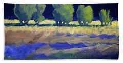 Twilight Landscape Beach Towel
