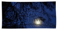 Twilight Moon Beach Towel